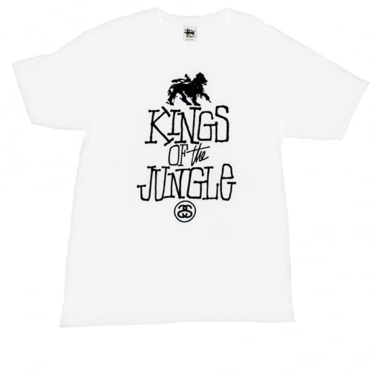 Stussy Kings Of The Jungle T-shirt - White