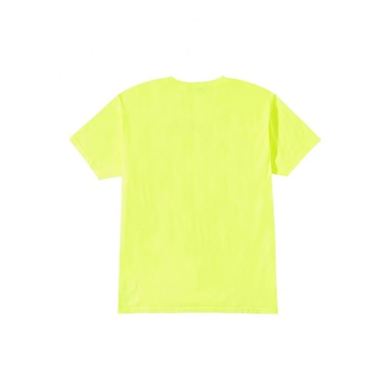 Stussy Livin' Xl Tee Neon Yellow