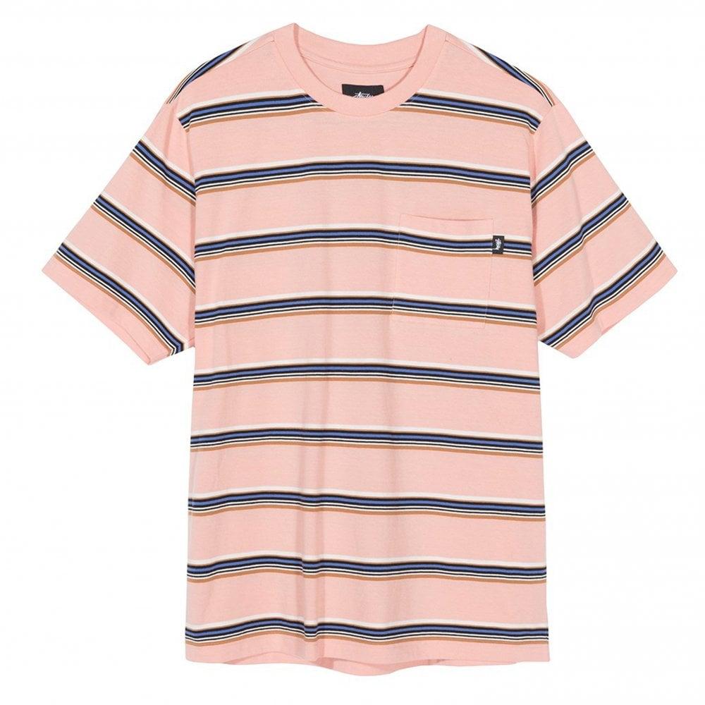 748adfe55c Stussy Malcom Stripe Crew | Clothing | Natterjacks