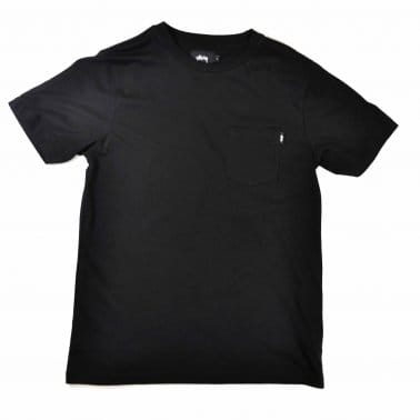 OG Stock Pocket Tee Black