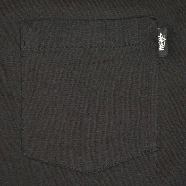 Stussy OG Stock Pocket Tee Black