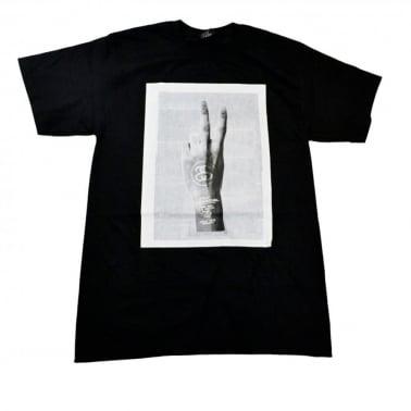 Peace T-shirt - Black