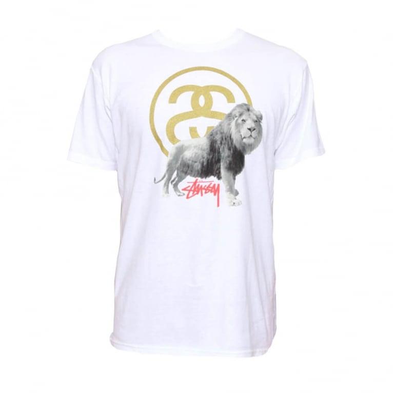 Stussy SS Lion T-shirt - White
