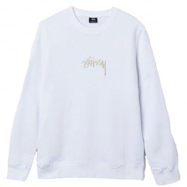 Stock Applique Crew Neck Sweatshirt