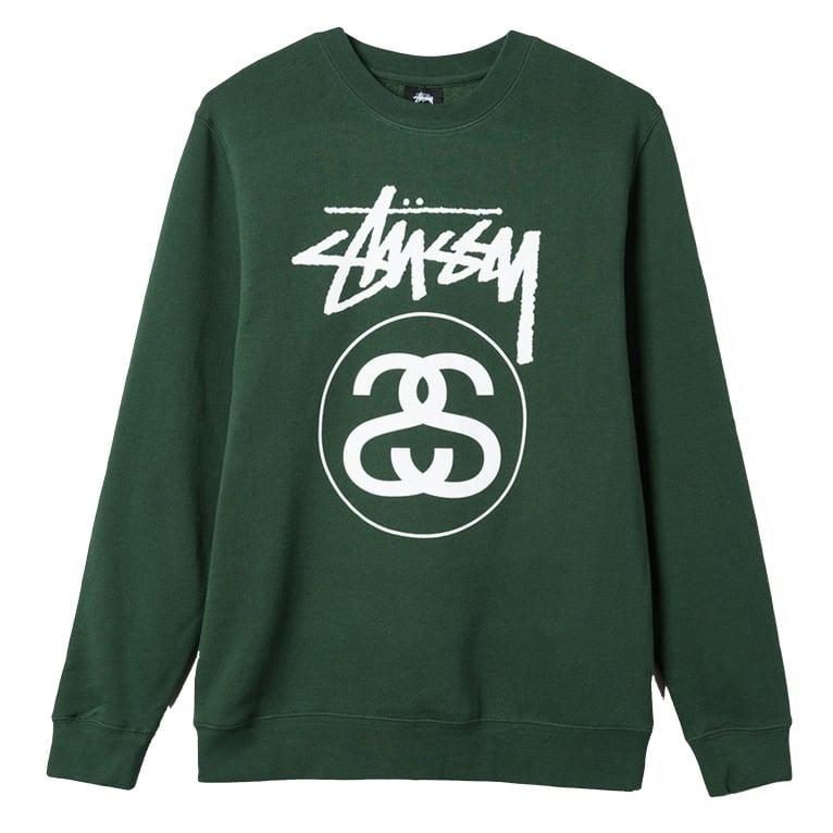 Stussy Stock Link Crewneck Sweatshirt