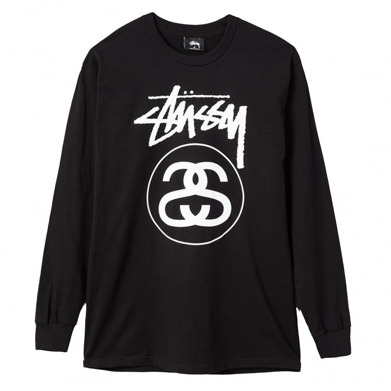 Stussy Stock Link Long Sleeve T-Shirt