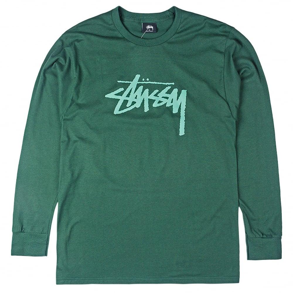 2b0836db Stussy Stock Long Sleeve Tee | Clothing | Natterjacks