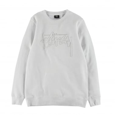 Stock Outline Crew Sweatshirt