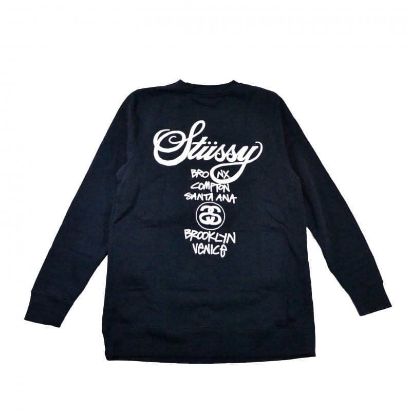 Stussy World Tour Crewneck