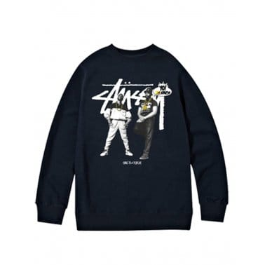 Yo! MTV Raps Eric B And Rakim Sweatshirt - Black