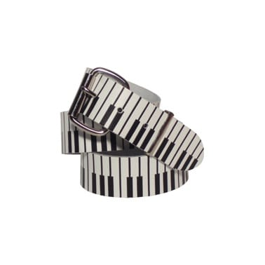 Stylex Piano Belt White