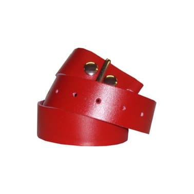Stylex Plain Belt Red
