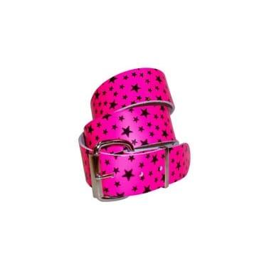 Stylex Star Print Belt Pink