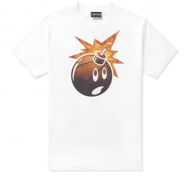 Brick Adam T-shirt - White