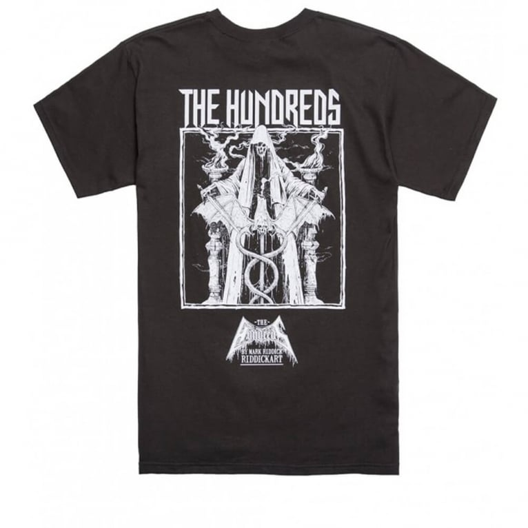 The Hundreds by Mark Riddick 'Valentin' T-shirt - Black