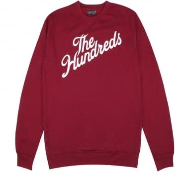 Forever Slant Crewneck Sweatshirt