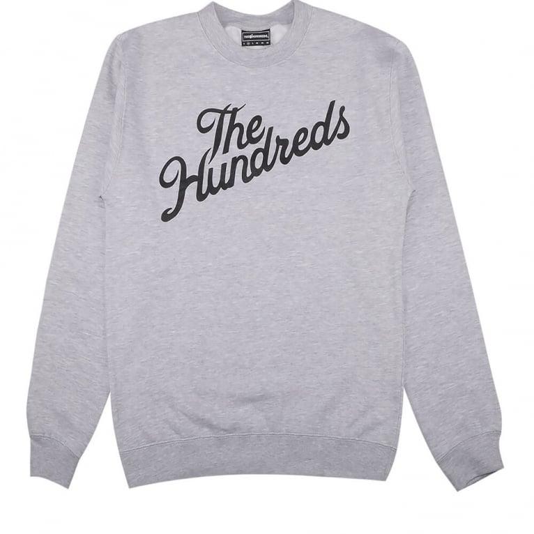 The Hundreds Forever Slant Crewneck Sweatshirt