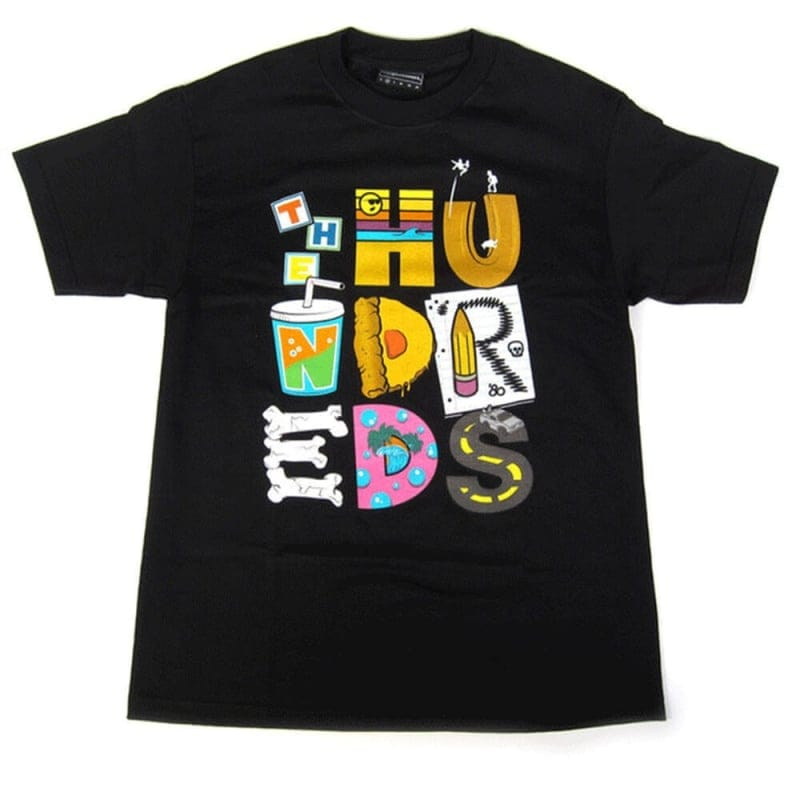 Buy The Hundreds Lettering T-shirt Black | The Hundreds | Natterjacks
