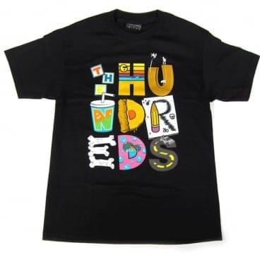 Lettering T-shirt - Black