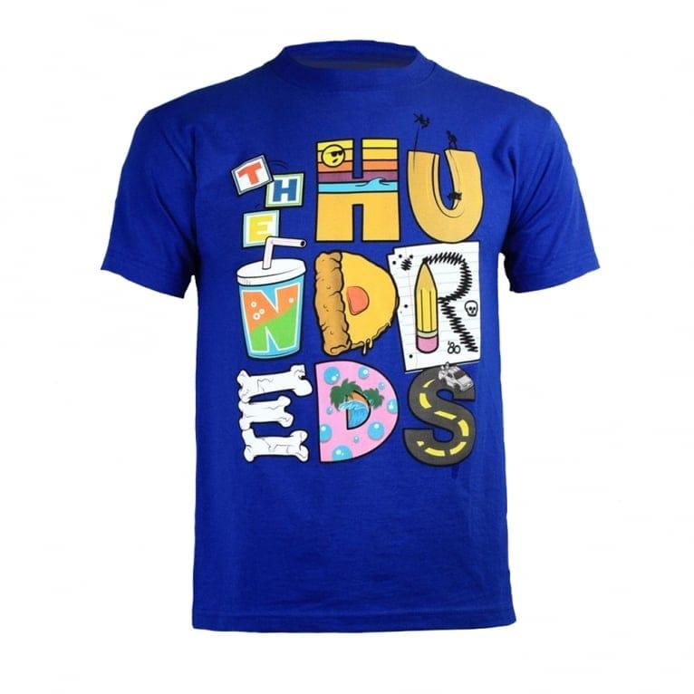 The Hundreds Lettering T-shirt - Royal Blue