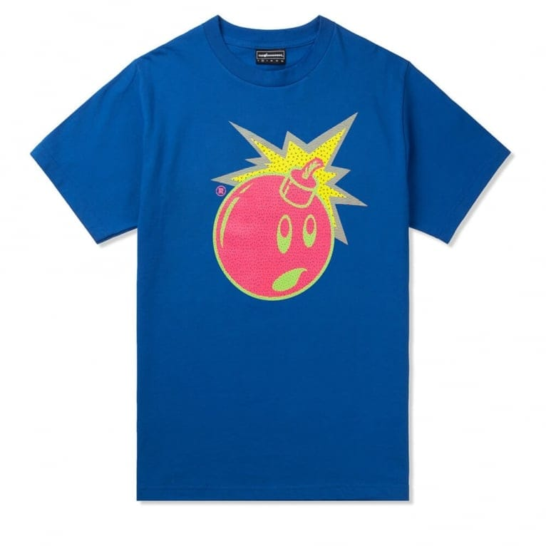 The Hundreds Now And Now T-shirt -  Royal Blue
