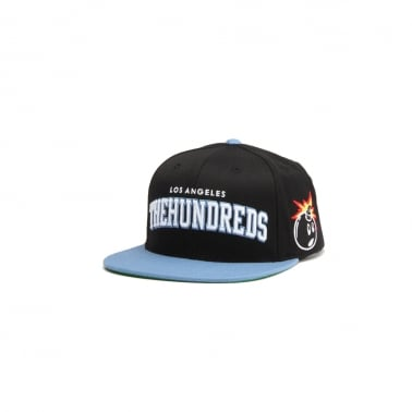 Player Snapback - Black/Blue