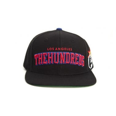 Player Snapback Black/Red