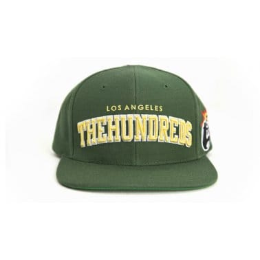 Player Snapback Green/Yellow