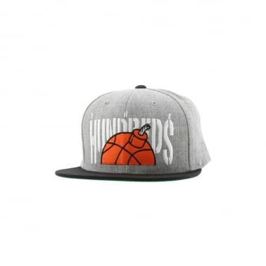 Push Snapback - Athletic Heather