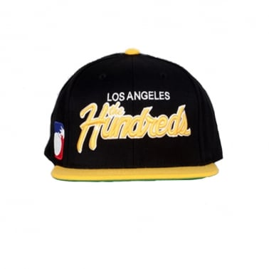 Team Two Snapback - Black/Yellow