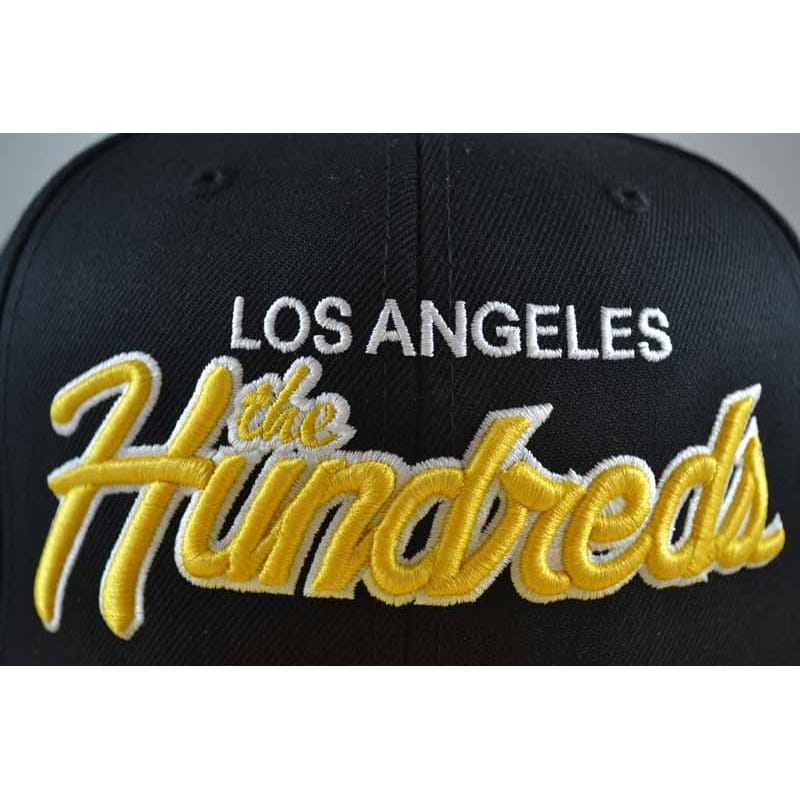 9b3c892afca82 Buy the The Hundreds Team Two Snapback in Black Yellow