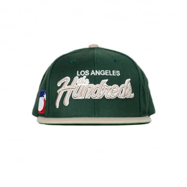 Team Two Snapback - Green/Khaki