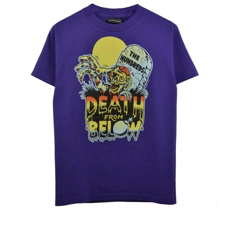 The Hundreds Walker T-shirt - Purple