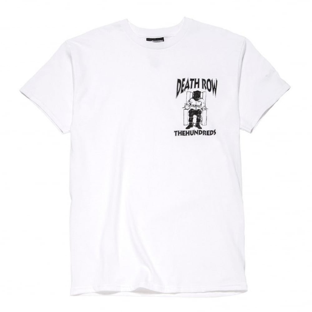 859c9770e24c6 The Hundreds x Death Row Records Crest Tee | Clothing | Natterjacks