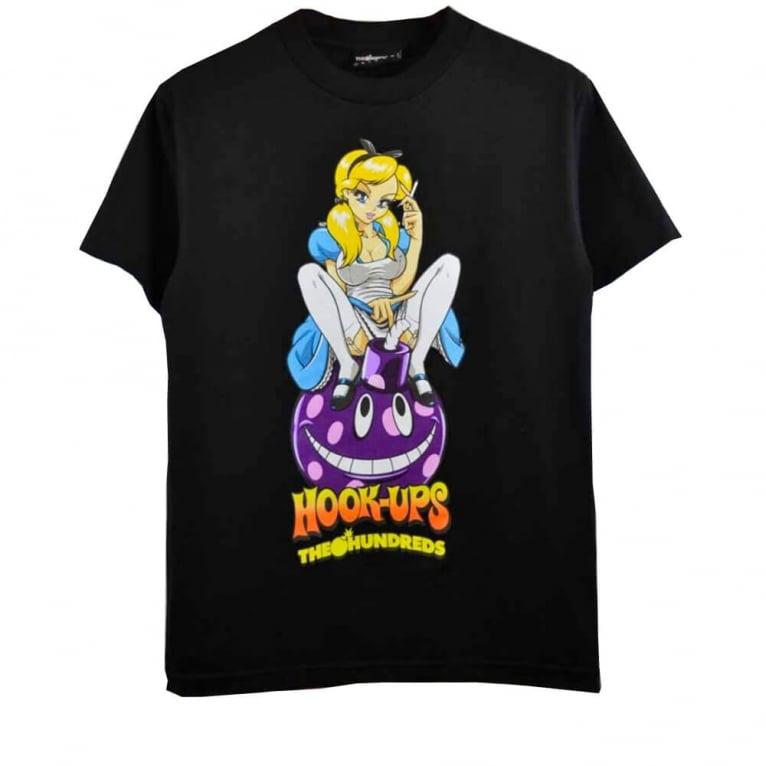 The Hundreds X Hook-ups Allison T-shirt -  Black