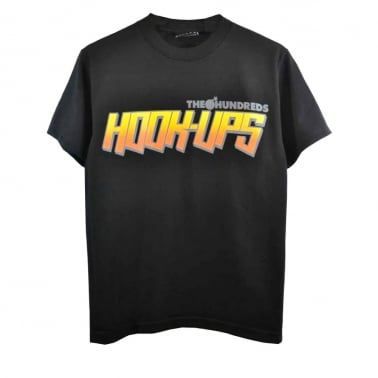 X Hook-ups Thxhu Logo T-shirt - Black