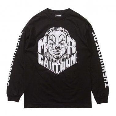 x Mister Cartoon Letters Long Sleeve T-Shirt - Black. The Hundreds ... 73167242d65d
