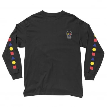Bauhaus Skull Long Sleeve T-Shirt