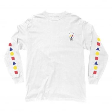 Bauhaus Skull Long Sleeve T-Shirt