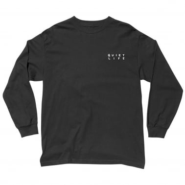 Finder Long Sleeve T-Shirt - Black