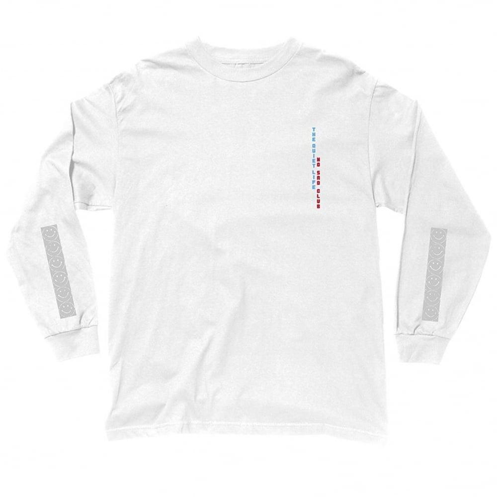 dcb3ae75f No Sad Club Long Sleeve T-Shirt - White