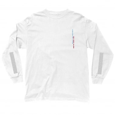 No Sad Club Long Sleeve T-Shirt - White