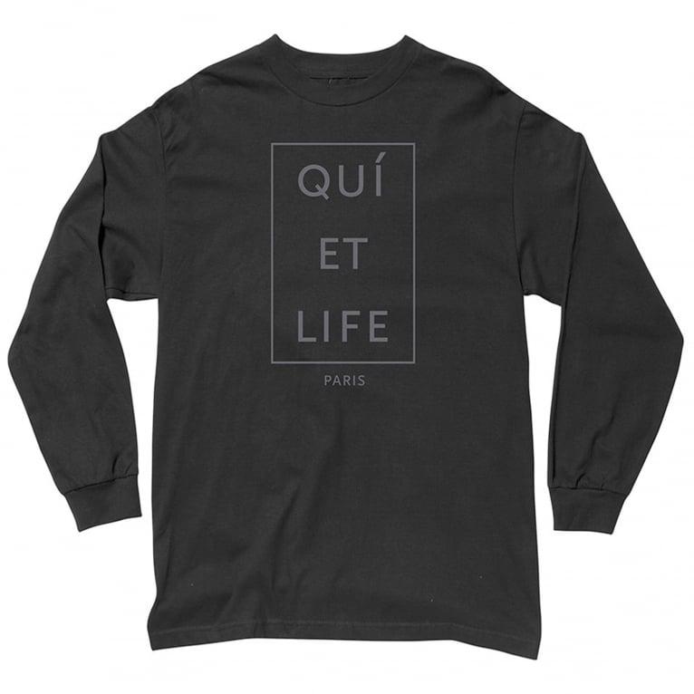 The Quiet Life Paris Long Sleeve T-shirt - Black