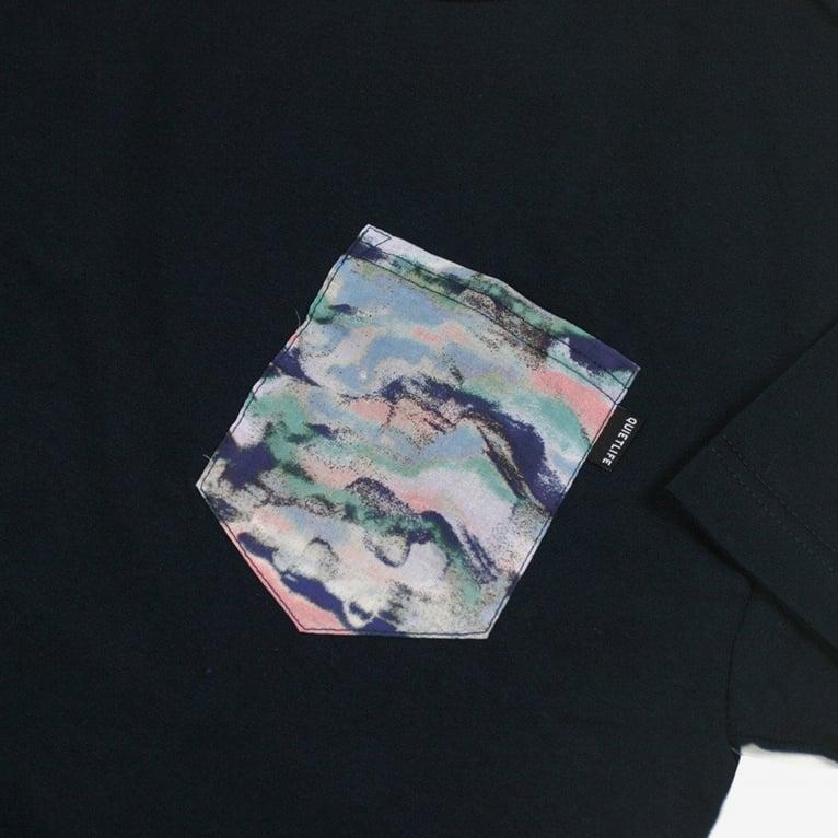 The Quiet Life Sandstorm Pocket T-Shirt - Navy