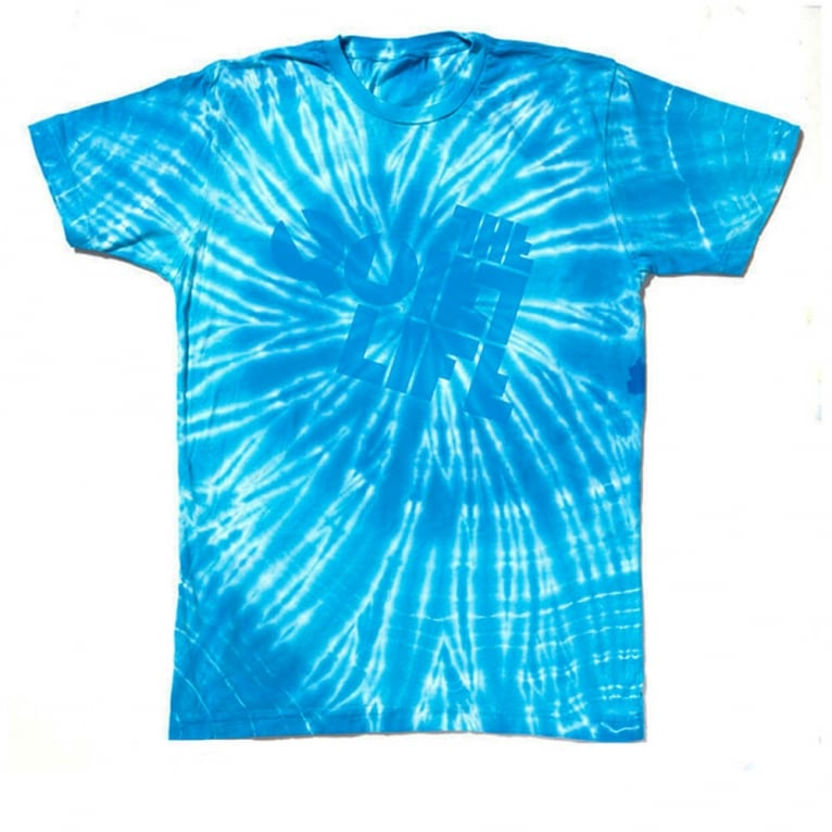 The Quiet Life The Swirl Logo Tee Blue