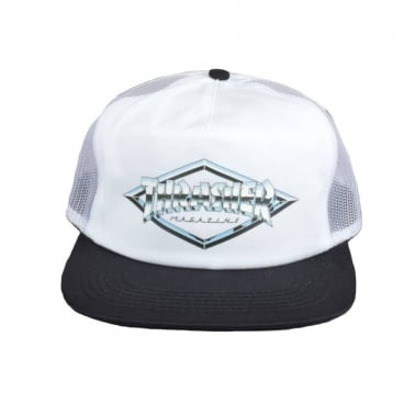 Diamond Trucker - White
