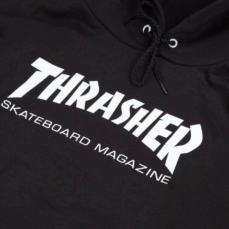 Thrasher Hood - Black