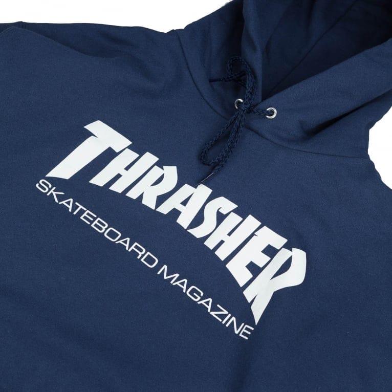 Thrasher Hood - Navy