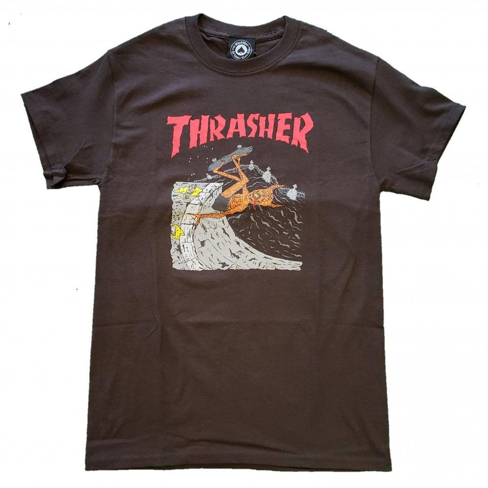 82340d144358 Thrasher Neck Face Invert T-Shirt | Clothing | Natterjacks
