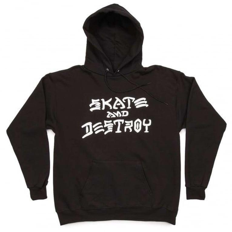Thrasher Skate & Destroy Hoodie - Black